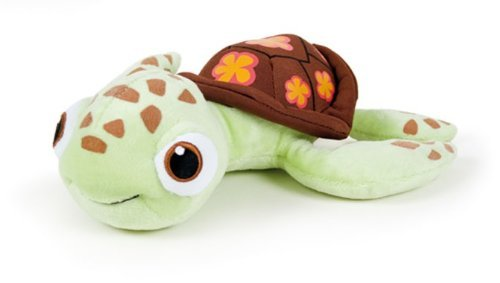 Squirt 10'' Finding Nemo Plush Soft Toy Juvenile Sea Turtle Crush's Son Pixar Disney Quality Doll by Play (Turtle 10' Plush)