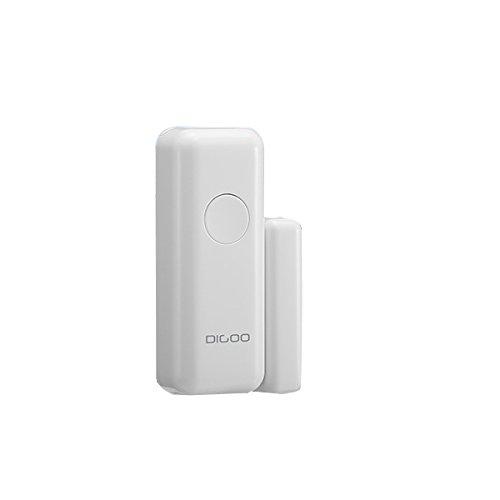 DIGOO DG-HOSA 433MHz Burglar Alarm Sensor, Wireless Windows Doors Sensor, Work with Any 433MHz Home Security Alarm System for Home and Business by DIGOO (Image #1)