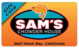 Sam's Chowder House Gift Card ($30) (Sam Moon Gift Card)