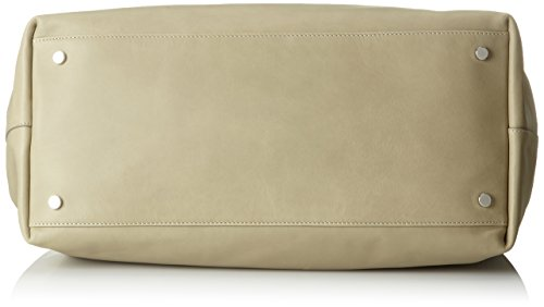 Strenesse Damen Bag Ida Henkeltasche, 20x32x41 cm Beige (Chalk)