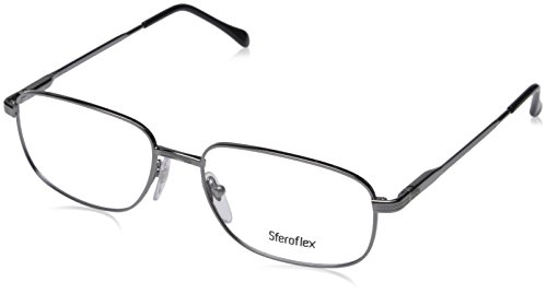 eglasses Styles Gunmetal Frame w/Non-Rx 52 mm Diameter Lenses, SF2086-268-52 ()