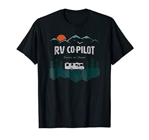 RV Co-Pilot Camping Shirt Motorhome Travel Vacation Gift