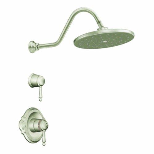 (Moen TS3112BN Waterhill Exacttemp Shower Only Faucet, Brushed Nickel)