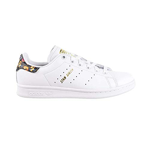 Price comparison product image adidas Originals Women's Shoes Stan Smith Fashion Sneakers Running (8 M US,  Cloud White / Cloud White / Gold Metallic)
