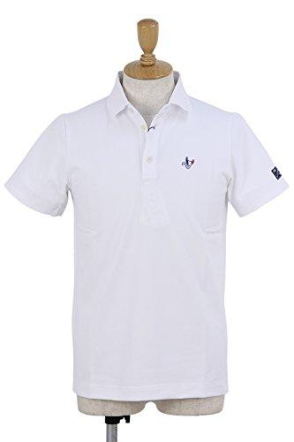 ポロシャツ メンズ クランク CLUNK 日本正規品 2018 春夏 ゴルフウェア L(L) ホワイト(OW) mc8s-npu