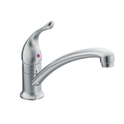 Moen 7423 Chateau One-Handle Low Arc Kitchen Faucet, ()
