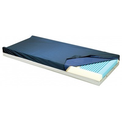 Gold Care Foam Mattress Size: 84'' H x 35'' W x 6'' D, Perimeter Options: Heel Slope and Defined Perimiter