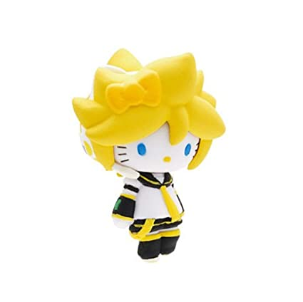 Amazon.com: Vocaloid Hatsune Miku x hello kitty Mascot Len ...