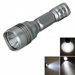 M9 CREE T6 950LM 5 Mode LED Flashlight Electric Torch Gray