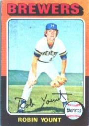 Amazoncom 1975 Topps Baseball Rookie Card 223 Robin Yount