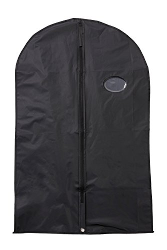 Set of 3 Travel Garment Bag Cover 40in - Storage for Suits Gowns (Wally Bags 40 Suit)