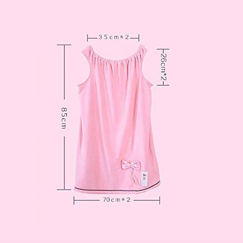 Sauna Ducha Más Ropa color Engrosamiento Chaleco Adulto Azul Baño Albornoz Mujer De Hogar Compre Playa Rojo Absorbente Vintage Pijamas Traje Toalla w6dtZ6