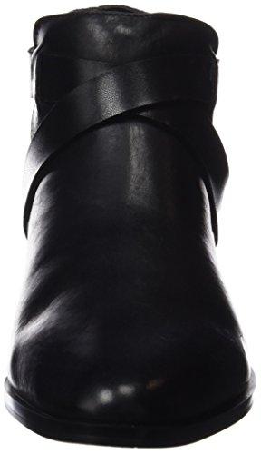 3 Schwarz Botin Damen Serpiente Stiefelette Cortefiel BS t SwH1f0w5nx