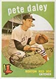 1959 Topps Regular (Baseball) Card# 276 Pete Daley of the Boston Red Sox VGX Condition