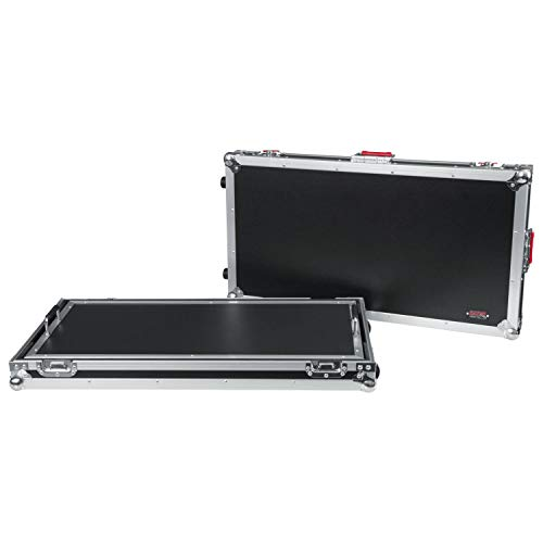 A/g Pro System Series - Gator Cases G-TOUR Series Guitar Pedal board with ATA Road Case, Wheels and Pull Handle; Extra Large: 32
