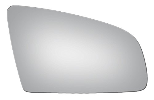 2006-2008 AUDI A3, 2002-2008 A4, 2006-2008 A6, A6 QUATTRO, S4, S6 Convex Passenger Side Power Replacement Mirror Glass -