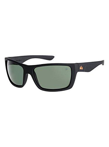 Quiksilver Mens Hideout Polarised Floatable - Sunglasses Sunglasses Black One - Sunglasses Quiksilver