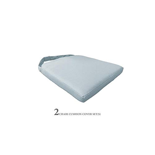 TK Classics 2 Cushions for Dining Chairs in Spa