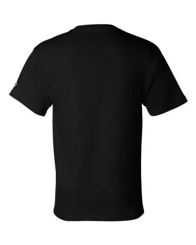 Uomo Black Champion Champion Champion Uomo Black Uomo T shirt T shirt shirt T 7q7APwpx6
