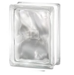 - Quality Glass Block 6 x 8 x 3 Wavy Mist Glass Block
