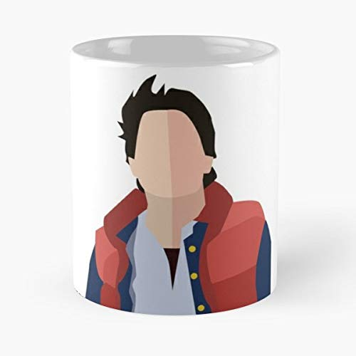 Marty Mcfly Mc Fly Back To The Future Doc Coffee Mug Gift 11 Oz Father Day -