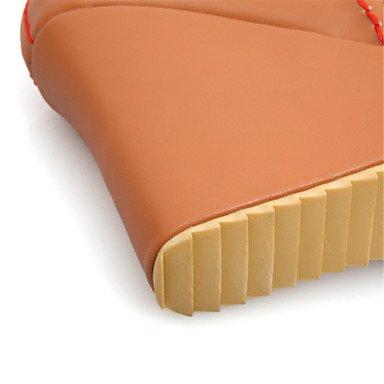 LvYuan Mujer-Tacón Cuña-Otro Confort Innovador Zapatos del club-Sandalias-Boda Fiesta y Noche Vestido-Materiales Personalizados Semicuero-Azul Blue