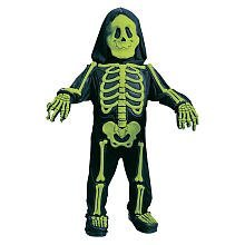 Fun World Costumes Baby Boy's Totally Skelebones, Black/Green, Large -