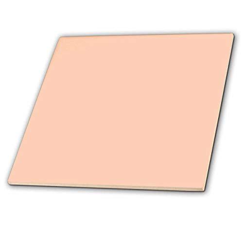 3dRose ct_30647_3 Ceramic Tile, 8-Inch, Blush Pink
