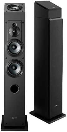 Sony SSCS3 Stereo Floor-Standing Speaker 2 Speakers w Sony SSCSE Dolby Atmos Enabled Speakers SS-CSE. 2 Speakers