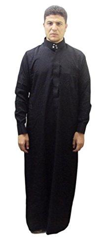 Men-Saudi-Style-Thobe-Thoub-Abaya-Robe-Daffah-Dishdasha-Islamic-Arabian-Kaftan-123