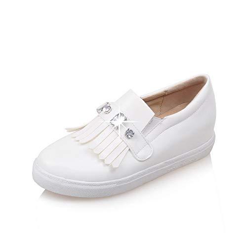BalaMasa Sandales Compensées 5 Blanc Femme APL10564 36 Blanc raxqwr