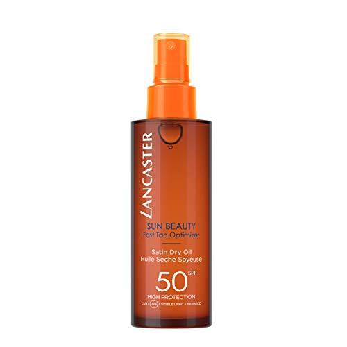 Lancaster Sun Beauty Dry Oil Fast Tan Optimizer SPF 50, 5 Ounce - Fast Dry Oil