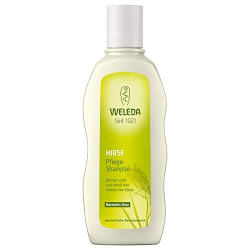 a40779d990 WELEDA Hirse Pflege-Shampoo, Naturkosmetik Bio Shampoo für die sanfte  Reinigung von Haar und Kopfhaut, Pflegeshampoo für natürlichen Glanz und  Spannkraft ...
