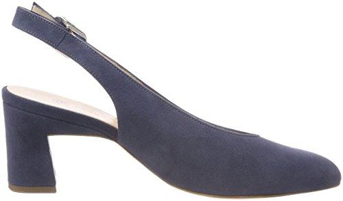Peter Kaiser Lidia, Scarpe Col Tacco con Cinturino Dietro la Caviglia Donna Grau (Bijou Suede)