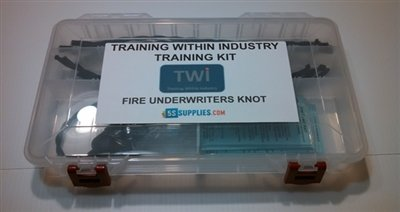 5S Supplies, LLC Training Within Industry (TWI) Job Instruction (JI) - Fire Underwriters Know Demonstration Kit. Comes with Lamp Chords, Instructors Cards and Job Breakdown Sheet