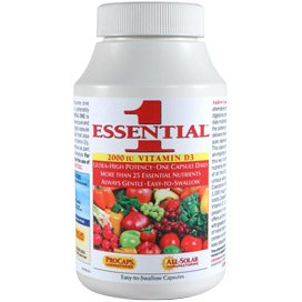 Essential-1 with 2000 IU Vitamin D3 360 Capsules by Andrew Lessman