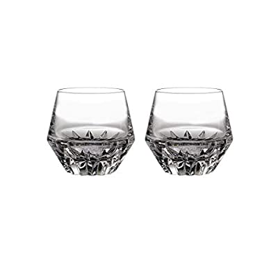 Waterford Irish Dogs Madra Double Old Fashioned Glasses Set of 2