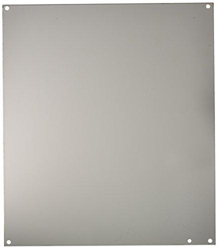 "Hoffman A16P14 Conductive Panels for JIC Enclosure, Steel/Aluminum, J Box/14.75"" x 12.88"", Fits 16"" x 14"", White"