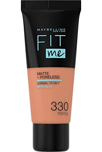 Maybelline New York Fit Me Matte & Poreless Foundation 330 Toffee 30ml