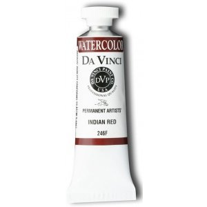 Da Vinci DAV246F 15ml Watercolor Paint - Indian (Red Indian Watercolor)