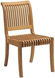 WholesaleTeakFurniture Grade-A Teak Wood Armless Dining Chair Model: Giva WFDCALGV