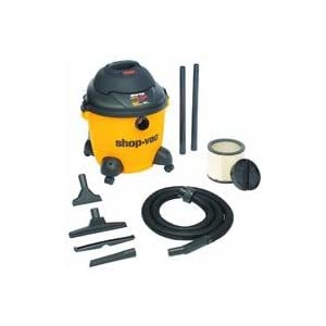 Shop-Vac 9651000 4.0-Peak HP Pro Series Wet or Dry Vacuum, 10-Gallon