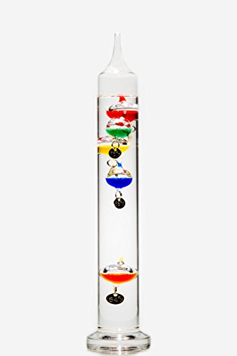 13 Inch Galileo Thermometer - Glassic Gifts Galileo Thermometer (13