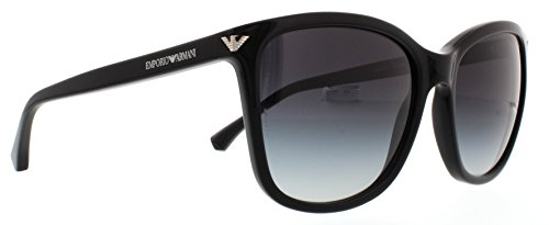 Emporio Armani EA4060 50178G Shiny Black EA4060 Square Sunglasses Lens Category