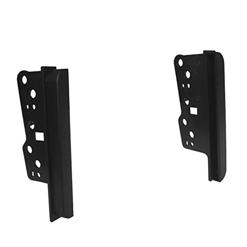 (DKMUS Dash Kit for Toyota and Scion Vehicles Universal Brackets Double Din Installation Trim Bezel (1 X Pair))