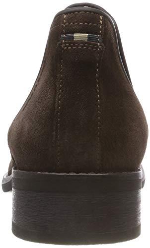Marc Femme O'Polo Marron Chelsea 790 Boots Foncé qA1wzUqR
