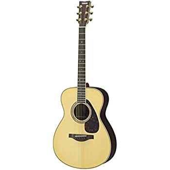 yamaha l series ls16 concert size acoustic electric guitar with gig bag natural. Black Bedroom Furniture Sets. Home Design Ideas