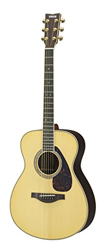 Yamaha L-Series LS16 Concert Size Acoustic-Electric Guitar with Gig Bag – Natural