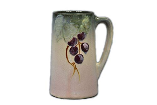 Weller Pottery 1906 Grapes on Leaves Etna Mug Stein ()