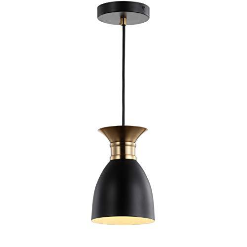5.75u0022 Edison Metal LED Pendant Black (Includes Energy Efficient Light Bulb) - JONATHAN Y